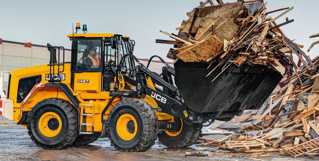 JCB Telescopic Wheel Loaders